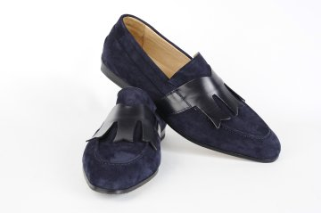 tobia longarini Footwear crafted leather Artur Suede